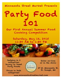 Party 101 Flyer